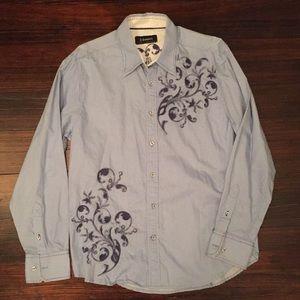 J. Campbell Embellished cotton shirt
